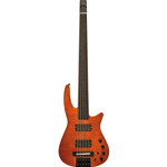NS Design CR5 Radius Basso 5 corde Fretless, Amber Satin