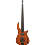 NS Design CR4 Radius Basso 4 corde Fretless, Amber Satin