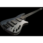 NS Design CR4 Radius Basso 4 corde Fretless, Charcoal Satin