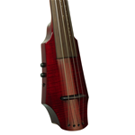 NS Design WAV4 Cello Transparent Red