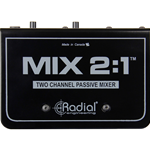 RADIAL MIX 2:1 mixer due canali