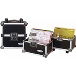 Rockgear RC 27162/50 DJ Flight Case per Vinili 50/50, 100 LP