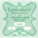 Lenzner Corda Re Violoncello 4/4 Optima Goldbrokat