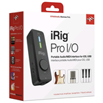 IK Multimedia iRig Pro I/O - interfaccia audio/midi per iOS, Android, MAC e PC
