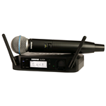 Shure GLXD24E B58 Sistema Palmare Digitale Wireless Radiomicrofono Beta58