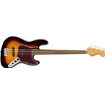 Fender Squier Classic Vibe '60s Jazz Bass® Fretless, Laurel Fingerboard, 3-Color Sunburst 037-4531-500