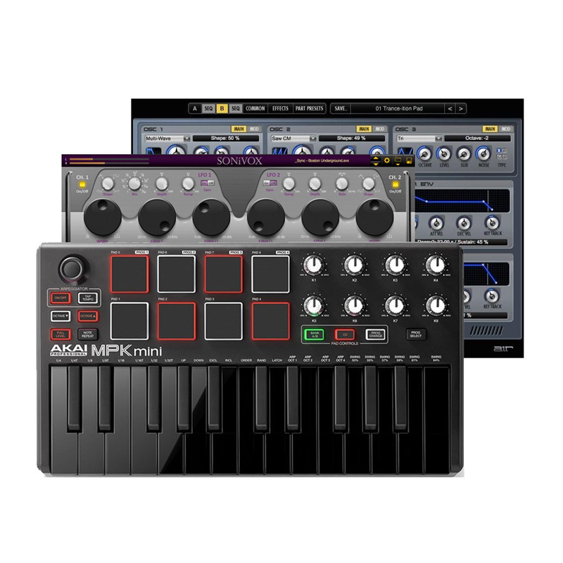 Akai MPK Mini MK2 Black Special Edition
