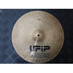 "Usato UFIP CLASS SERIES 17"" CRASH piatto ex nolo con crepa"