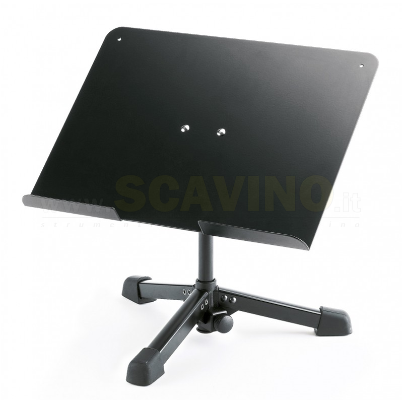 K&M 12140-55 Supporto LapTop Black Konig & Meyer