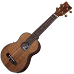 VGS 512891 Soprano E-Acoustic Ukulele Asian Koa