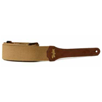 Taylor GS Mini Strap,Tan Cotton,2""