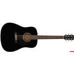 Fender CD60 Dread V3 DS, Black WN