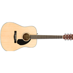 Fender CD60S Dreadnought, Walnut Fingerboard, Natural