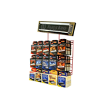 HOHNER EXPOSITOR PARED 60 UNIDADES