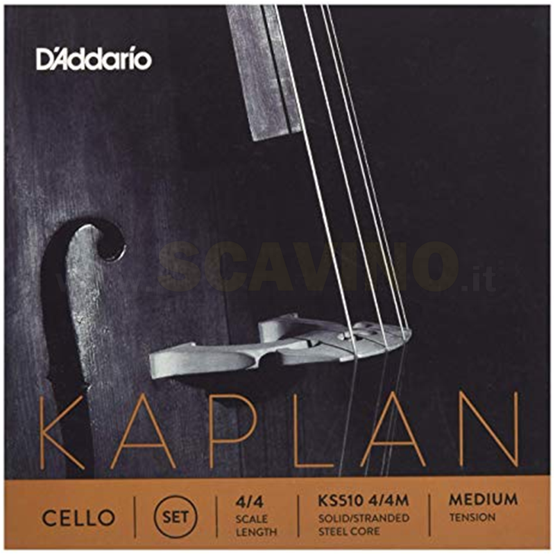 D'addario Kaplan KS510 4/4 Set corde Cello