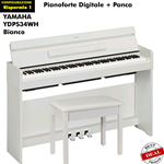 Yamaha YDP S34 WH Risparmio1 Pianoforte Completo di panca YDPS34 Bianco