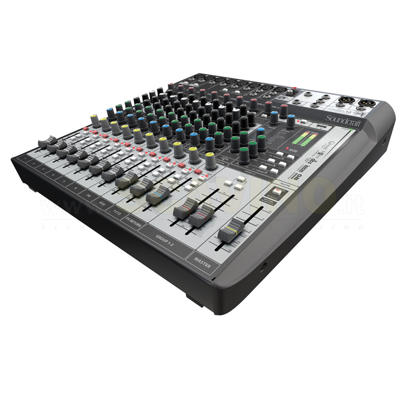 Soundcraft SIGNATURE 12 MTK Mixer USB 12 canali