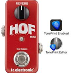 TC Electronic Hall of Fame Mini Effetto Riverbero a Pedale HOF