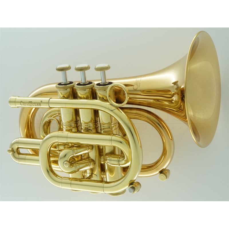 Carol Brass Tromba Pocket CPT3000-YLS