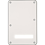 Fender Backplate, Stratocaster®, White (W/B/W), 3-Ply