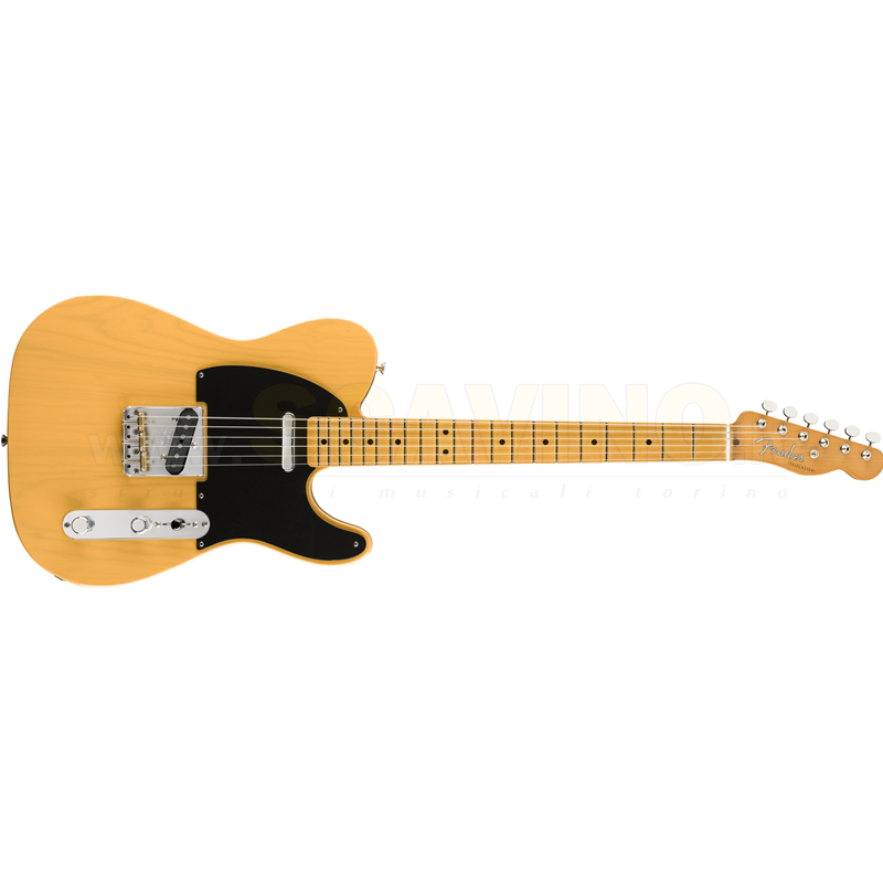 Fender Vintera '50s Telecaster® Modified, Maple Fingerboard, Butterscotch Blonde