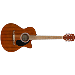 Fender FA-135CE Concert All-Mahogany, Walnut Fingerboard, Natural