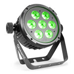 Beamz LED FlatPAR faretto led con Telecomando