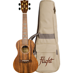 Flight DUC440 Ukulele Concerto in Koa