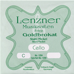 Lenzner Corda Do Violoncello 4/4 Optima Goldbrokat