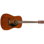 Fender CD60S Dreadnought, Walnut Fingerboard, All-Mahogany