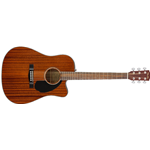 Fender CD60SCE Dreadnought, Walnut Fingerboard, All-Mahogany