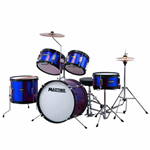 Maxtone MXC3010 Batteria Junior Metallic Blue
