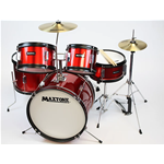 Maxtone MXC310 Batteria Junior 5PZ Red