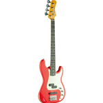 Eko PJ Bass Relic Fiesta Red