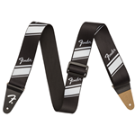 Fender Competition Stripe Strap, Silver
