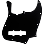 Fender Pickguard, Jazz Bass®, 10-Hole Mount (with Truss Rod Notch), B/W/B, 3-Ply