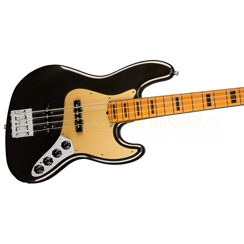 Fender American Ultra Jazz Bass®, Maple Fingerboard, Texas Tea