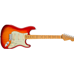 Fender American Ultra Stratocaster®, Maple Fingerboard, Plasma Red Burst
