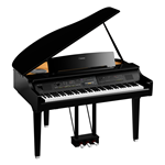 Yamaha CVP809GP Pianoforte digitale con accompagnamenti finitura nero lucida codino digitale
