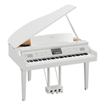 Yamaha CVP809GPWH Pianoforte digitale con accompagnamenti finitura bianco lucido  codino digitale