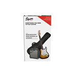 Fender Squier Stratocaster® Pack, Brown Sunburst, Gig Bag, 10G