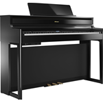 Roland HP704 PE Pianoforte Digitale Nero Lucido