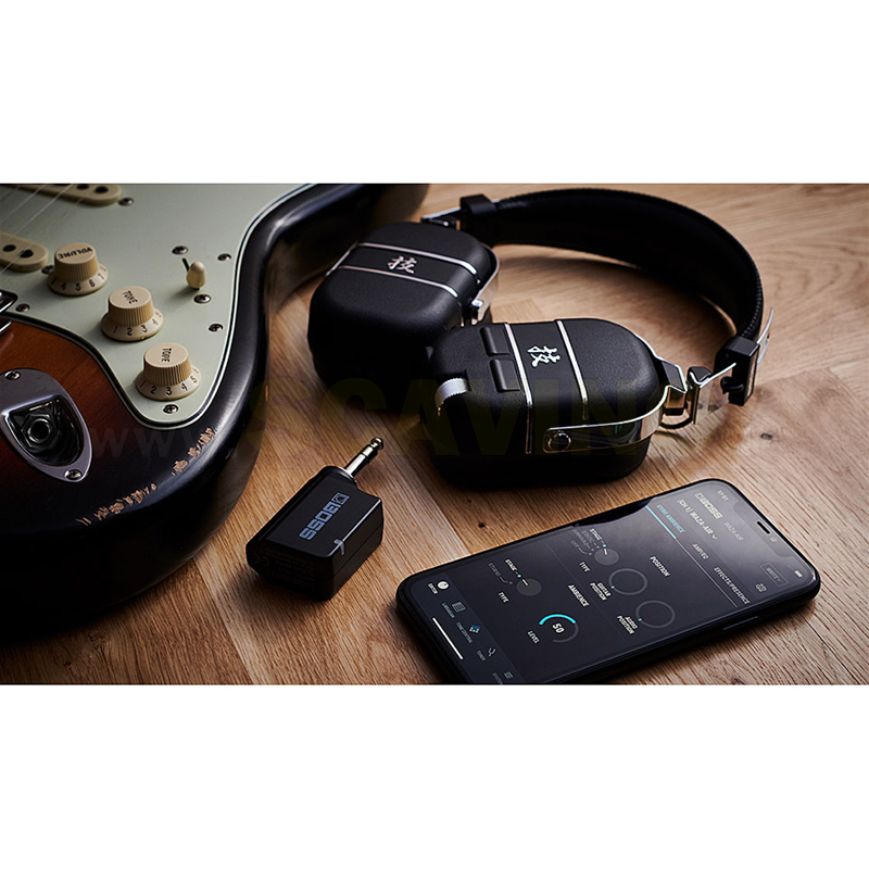 Boss WAZA Air Cuffie Wireless guitar system