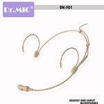 Headset DR.MIC Omnidirezionale DH-F01S 4pin Shure