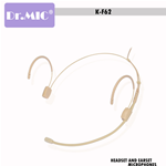 Headset DR.MIC Omnidirezionale K-F62S 4Pin Shure