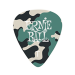 Ernie Ball 9221 - confezione 12 plettri Thin Camouflage in cellulosa