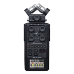 Zoom H6-BLK Registratore 6 tracce interfaccia USB Black Edition