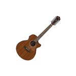 Ibanez AE2912LGS Chitarra 12 corde finitura Natural Low Gloss