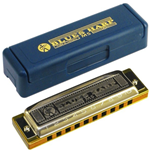 Hohner 532/20 Db Armonica a Bocca Blues Harp  in Reb