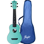 Flight TUS35 Ukulele Soprano Light Blu Travel